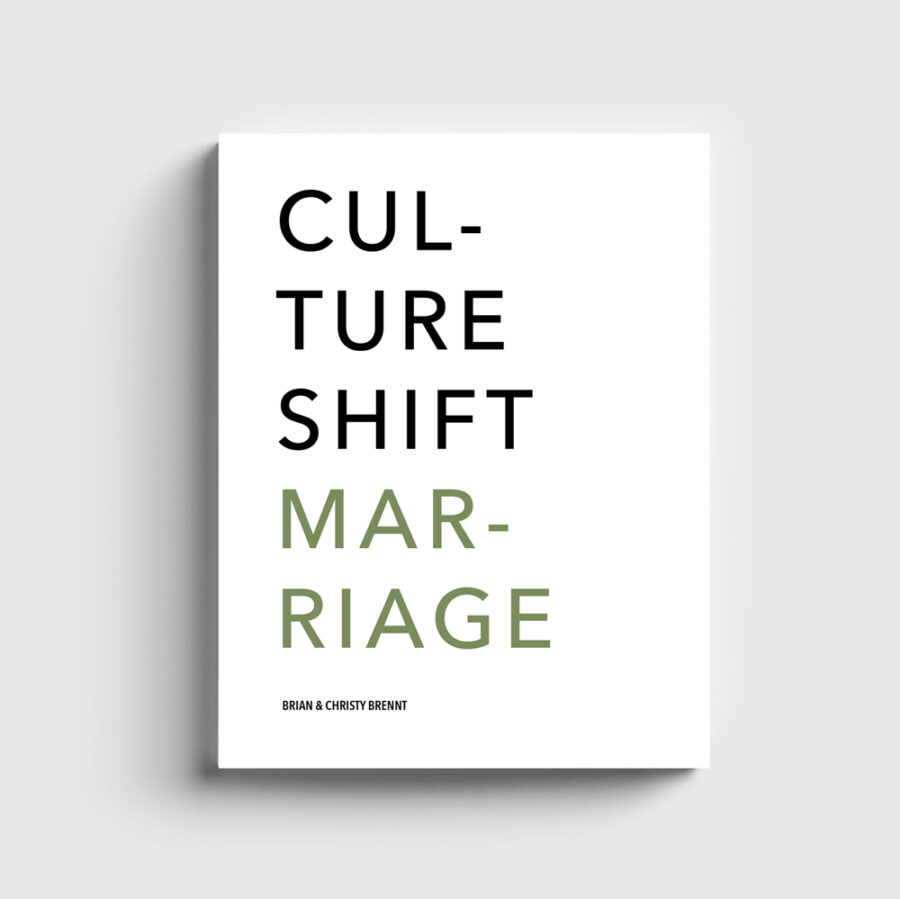 Culture Shift Marriage Book