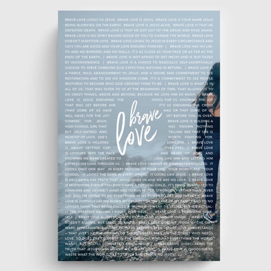 Brave Love Poster