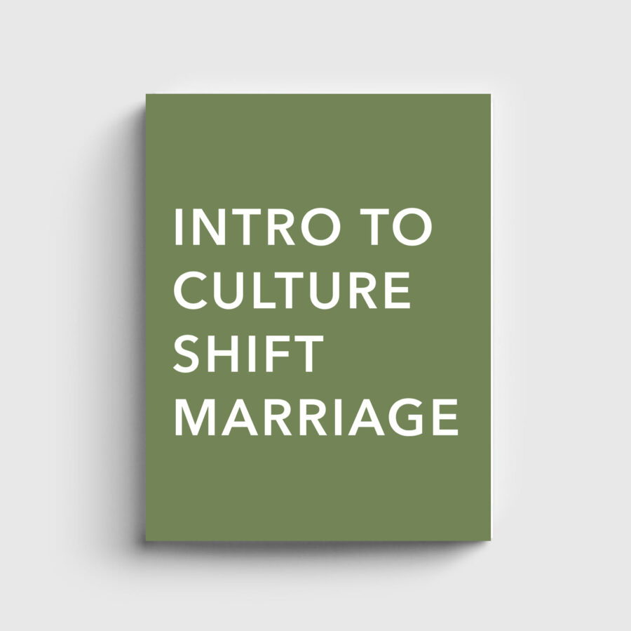 Culture Shift Marriage Kit - Intro